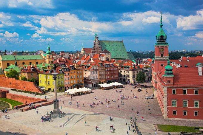 Королевский дворец и старый город, Варшава