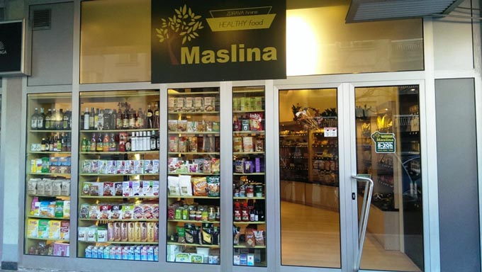 Магазин здорового питания в Тивате