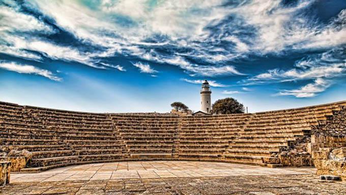 Амфитеатр в Пафосе