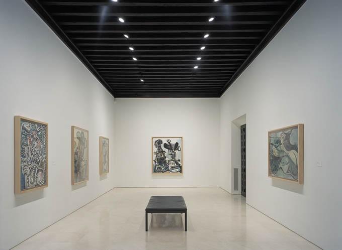 Музей Пикассо в Малаге, зал