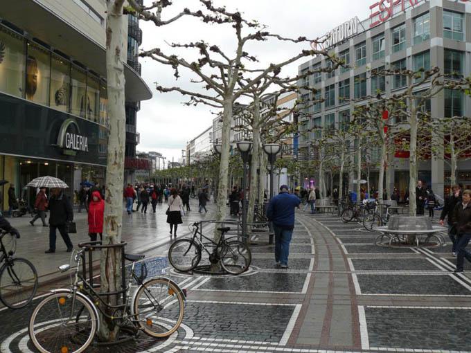 Улица Цайль, Франкфурт