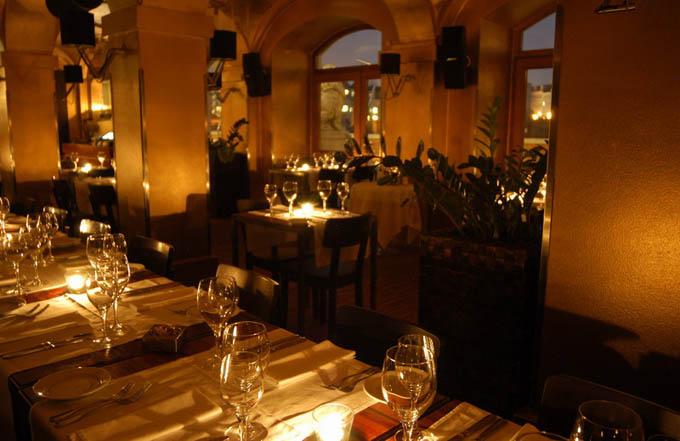 Ресторан Hergetova Cihelna