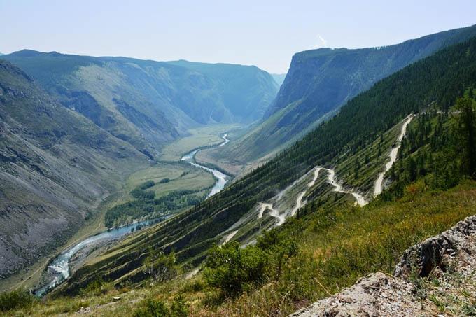Чулышманский каньон