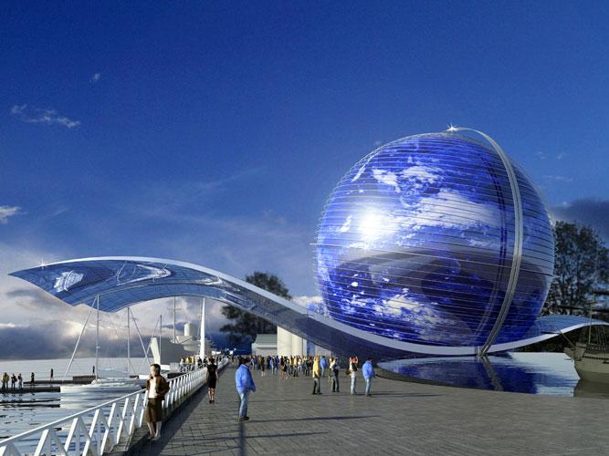 Калининград, музей Мирового океана